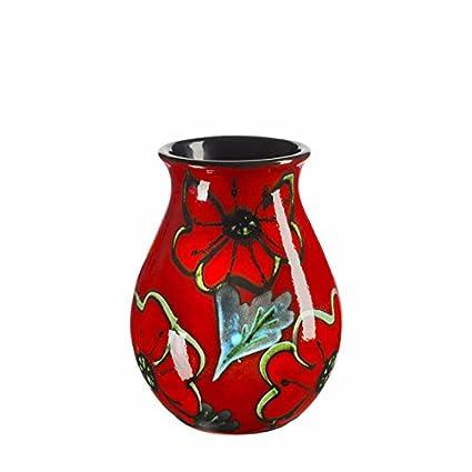 Amazon Poole Pottery Poppy Field 16cm Venetian Vase Kitchen