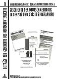 img - for Geschichte der Deutschmethodik in der SBZ und DDR in Biographien (Beitr ge zur Geschichte des Deutschunterrichts) (German Edition) book / textbook / text book
