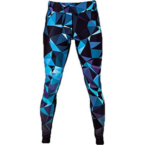 [해외]다다미 숙녀 기하학적 다리 띠 - 블루/Tatami Ladies Geometric Leggings - Blue