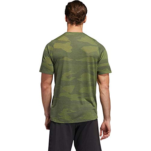 adidas Herren Herren T-Shirt Camo Burnout T-Shirt