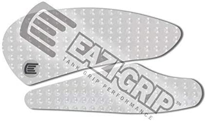 Eazi-Grip for a Yamaha YZF-R1 Tank Grips in Clear EVO 2007-2008
