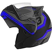 Capacete Moto Motoqueiro Robocop Escamoteável Pro Tork V-Pro Jet 3
