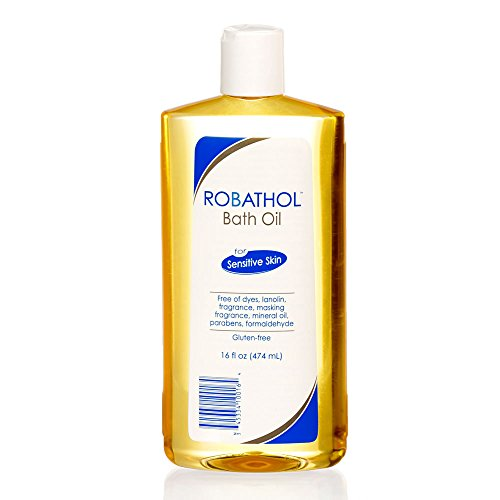 RoBathol Bath Oil | Fragrance, Gluten and Sulfate Free | For Sensitive Skin | 16 Fl Oz