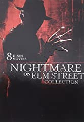 """Nightmare on Elm Street Collection (8-Pack) (DVD)""""Don't fall asleep"""" -- words to live by for Elm Street teens. Not a problem for fans wide awake with fear (and glee) as they experience these first 8 Nightmare movies released from 1984 to 2003..."""