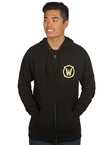 JINX-World-of-Warcraft-Mens-Alliance-Shield-Zip-Up-Hoodie