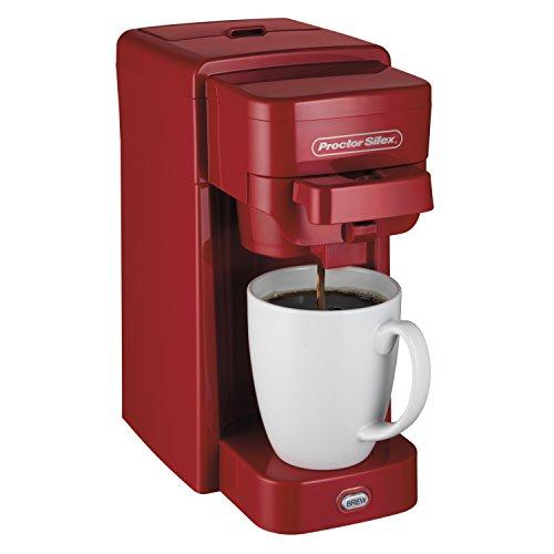 compare price to proctor silex red coffee maker. Black Bedroom Furniture Sets. Home Design Ideas