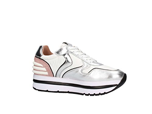 Blanche Power Sneakers May Femme Voile 9132 17fdqdP