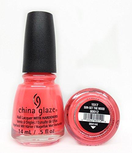 China Glaze Nail Polish-Sun-set The Mood 80012