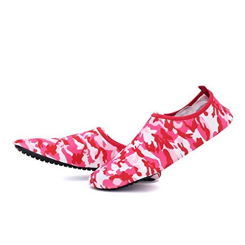 Män Kvinnor Och Barn Pull-on Vatten Skor Utomhussporter Sneaker Snabbtork Holey Ventilation Kpu Yttersula 2ared