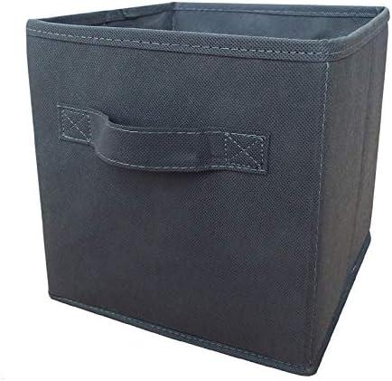 Russel – tela plegable caja de almacenaje, Gris 35 cm: Amazon.es: Hogar