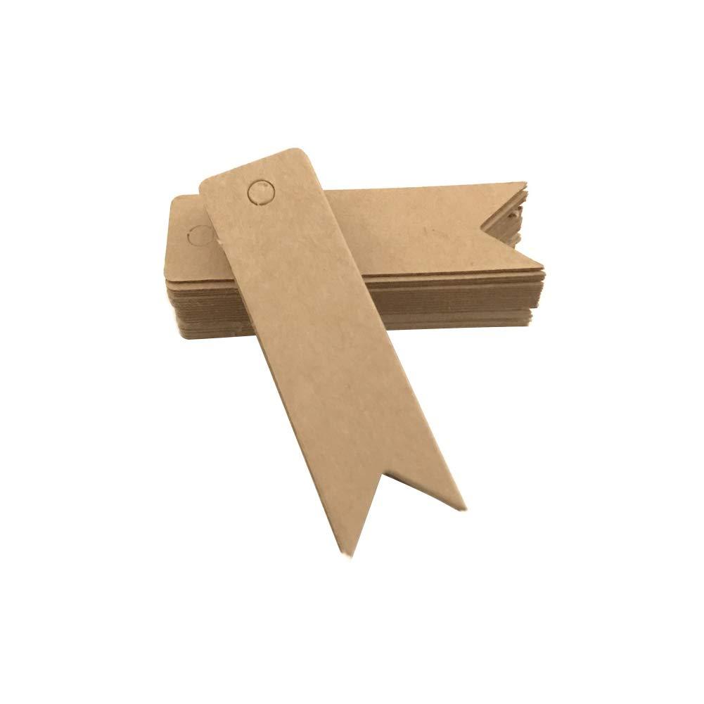 Joyfeel Buy 50 pezzi Etichette Cartoncino Etichette Regalo di Carta Fai Da Te Targhette Carta Kraft Tag Regalo