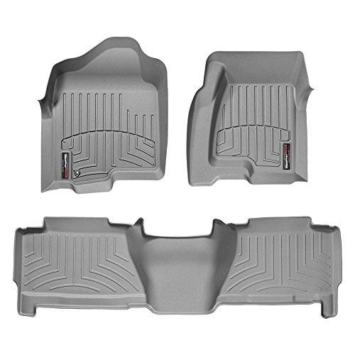 New 2002-2006 Chevrolet Avalanche Grey WeatherTech Floor Liner (Full Set) for sale