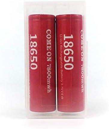 FYstar 18650 Batteries Rechargeable au Lithium Batterie au Lithium 7800mwh 3.7V Grande capacit/é Li-ION ICR Batterie pour Lampe de Poche LED Torche