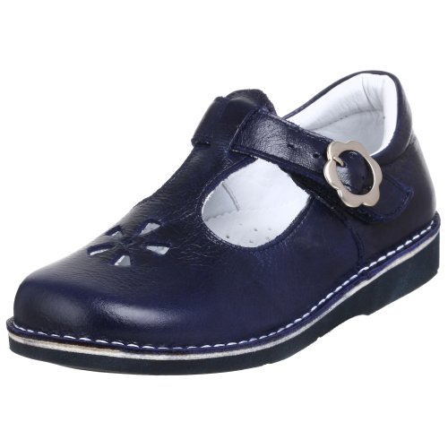 Kid Express Little Kid Molly T-Strap,Navy,33 W EU (US Little Kid 1.5 W) - Kid Express Leather Mary Janes