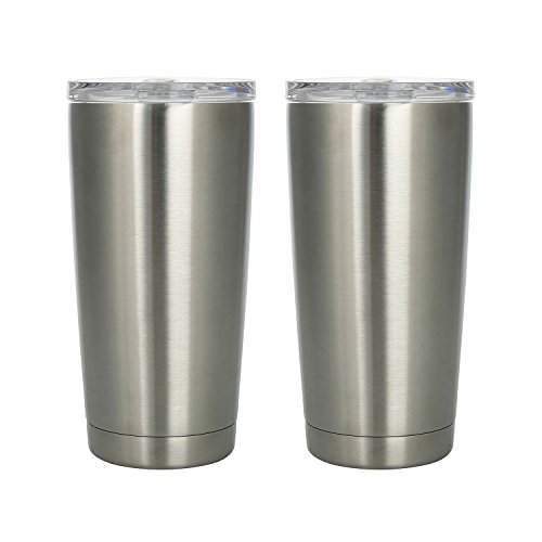 Member's Mark 20 oz. Stainless Steel Vacuum Insulated Tumblers, 2-Pack