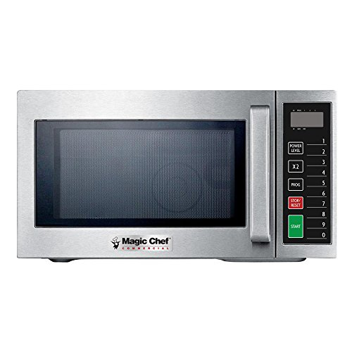 Magic Chef MCCM910ST 0.9 cu.ft. Commercial Microwave, Stainless Steel