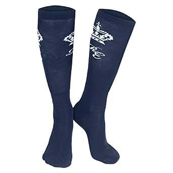 Horze Knee Socks - Dark Blue
