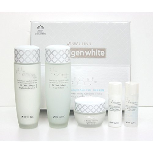 3W Collagen Whitening Moisturized Cosmetics