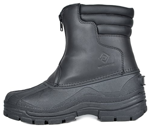 Snow Indiana black DREAM Men's PAIRS Boots Insulated Waterproof Winter qXp07