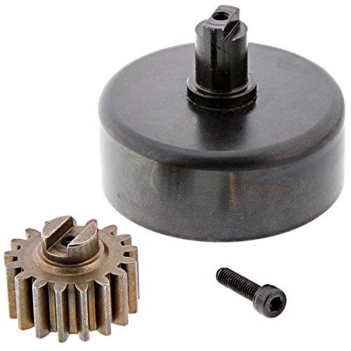 HPI 1/5 Baja 5B 5SC Clutch Bell & 17T Hardened Steel Pinion Gear Fuelie K23