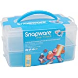 Snapware Snap 'N Stack 6-Inch by 9-Inch Plastic Container