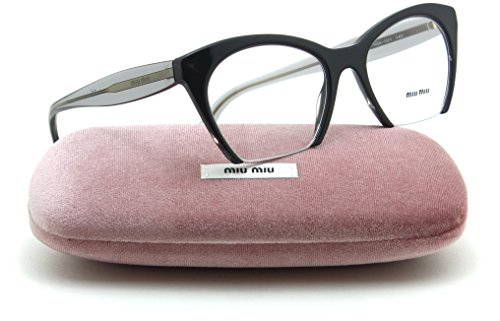 Miu Miu 03QV Women Cat-Eye Prescription RX - able Glasses Frame H5X-1O1, - Eyewear Miu Prescription Miu