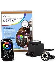 Aquascape 84055 LED Color Changing Fountain Light Kit, Black