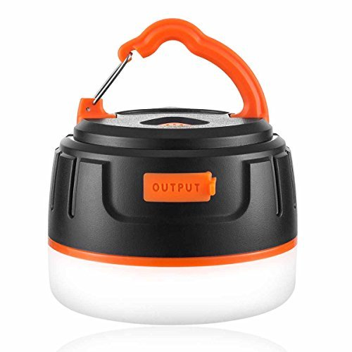 Brisie Waterproof 5200mAh Rechargeable Camping LED Lantern