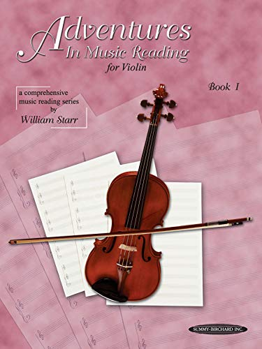 Adventures in Music Reading for Violin, Bk - Note Violin Reading
