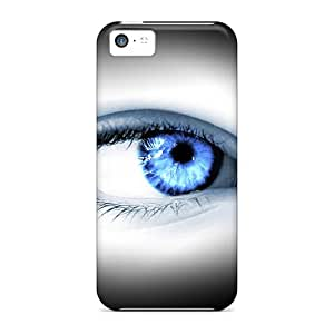Anti-scratch Case Cover NadaAlarjane Protective Blue Eye Case For Iphone 5c