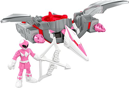 Fisher-Price Imaginext Power Rangers Pink Ranger & Pterodactyl Zord ()