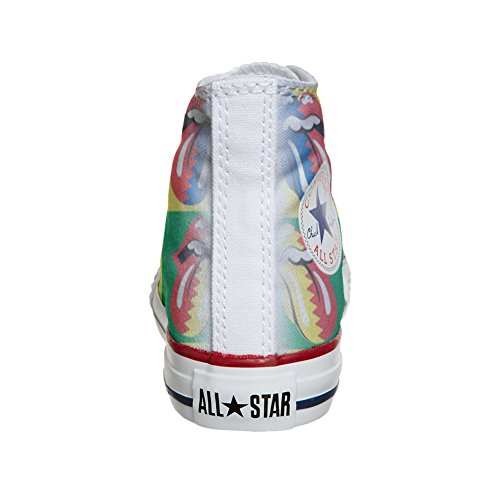 Chaussures Rolling Converse Customized Coutume artisanal Stones produit SqCgFqnwT