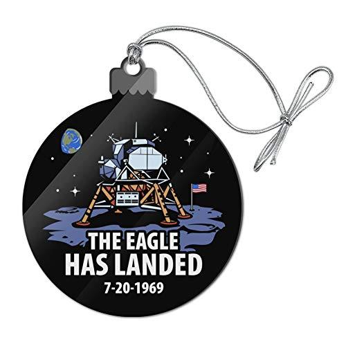 (GRAPHICS & MORE NASA Apollo 11 The Eagle Has Landed Moon Landing Acrylic Christmas Tree Holiday Ornament)