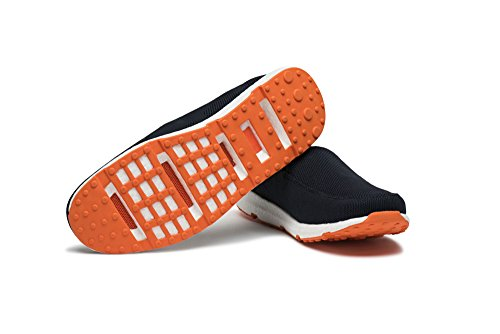 SWIMS Breeze Leapknit In Navy-Orange, Size 8 by SWIMS (Image #4)