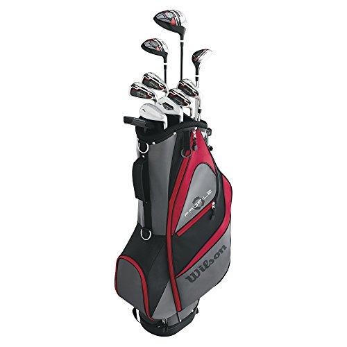 - Wilson Men's Profile XD Golf Complete Set Long Men's Right Hand