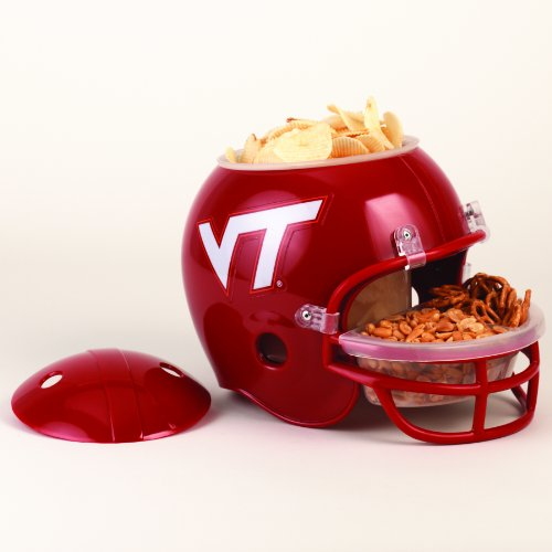 NCAA Virginia Tech Hokies Snack Helmet -