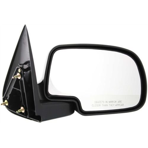 - Make Auto Parts Manufacturing - New Textured Black Right Side Non-Towing Door Mirror for Cadillac Escalade 2002-2006 / Chevrolet Silverado 1500 1999-2006 / GMC Sierra 1500 1999-2006 - GM1321230
