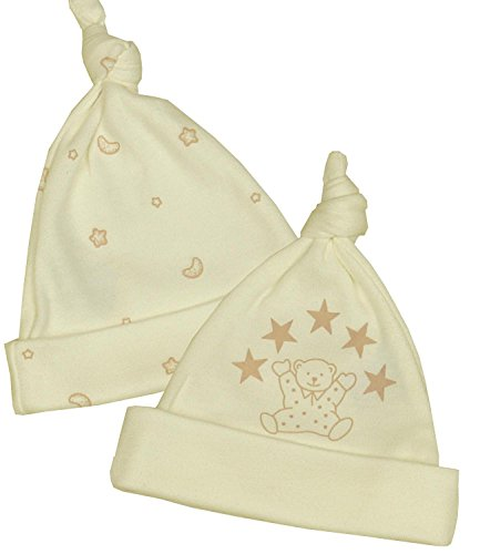 827663e38d79 Amazon.com  BabyPrem Preemie Baby Pack of 2 Knotted Hats Unisex 1.5 ...