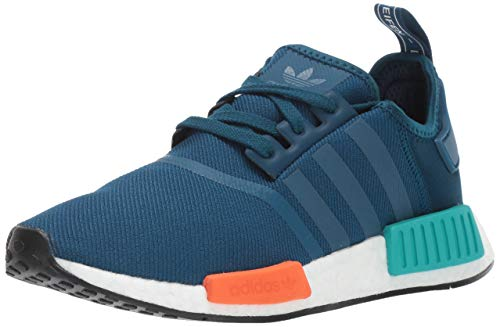 5192922c3 adidas Originals Men s NMD R1 Running Shoe Blue Night Energy Orange