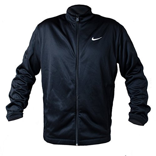 Nike Golf Therma-Fit Full-Zip Stay Warm Mens Jacket (Black, XX-Large)