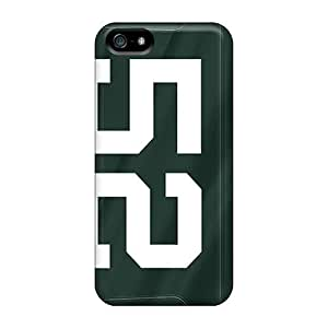 High Quality Cri3857MWwS Green Bay Packers Tpu Cases For Iphone 5/5s by icecream design