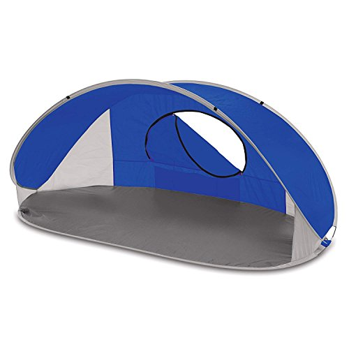 (ONIVA - a Picnic Time Brand Manta Portable Pop-Up Sun/Wind Shelter, Blue)