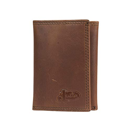 Justin Boot Company Trifold Leather
