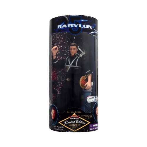Babylon 5 Captain John Sheridan 9  Limited Edition Action Figure by exclusive toy
