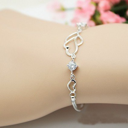 Silver Hand Bracelet For Girls | www.pixshark.com - Images ...