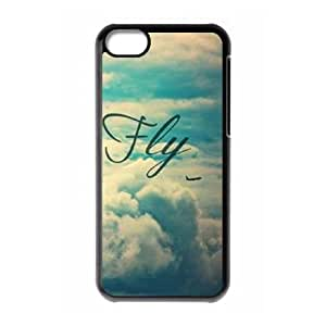 DIY Fly free Plastic Case for iPhone 5c, Custom Fly free Iphone 5C Shell Case, Personalized Fly free iPhone 5c Cover Case