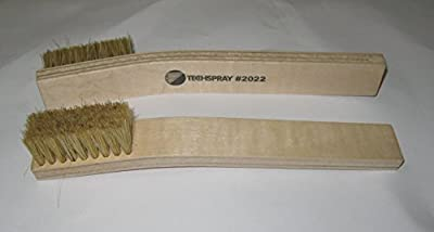"(Qty 6) TechSpray 2022-1 Tech Brush 2-1/8"" x 7/8"" Hog Hair"