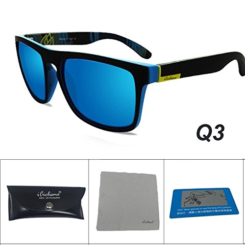 731b83a08ec Lepakshi Q3  Acexpnm 2017 Polarized Sunglasses Men Sport Eyewear Brand  Designer Driving Oculos De Sol Reflective Coating Uv400 With Case   Amazon.in  ...