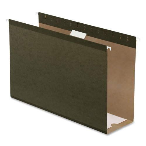 Pendaflex Hanging Box Bottom Folder, Standard Green, Legal Size, 25 per Box (04153X4)