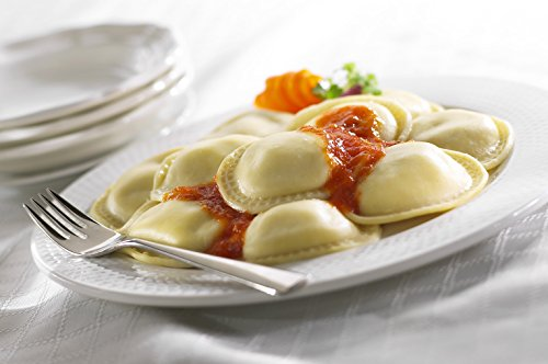 Pasta Fresh Mozzarella (PastaCheese Fresh Jumbo Round Broccoli Rabe & Fresh Mozzarella Ravioli, 12 count - 13 oz (2 Pack))